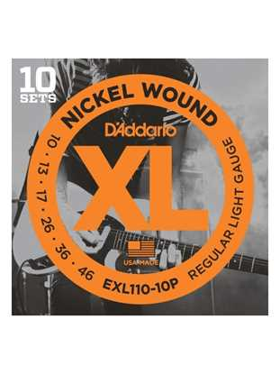 D'Addario EXL110-10P Regular Light