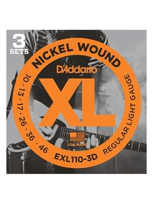 D'Addario EXL110-3D Regular Light