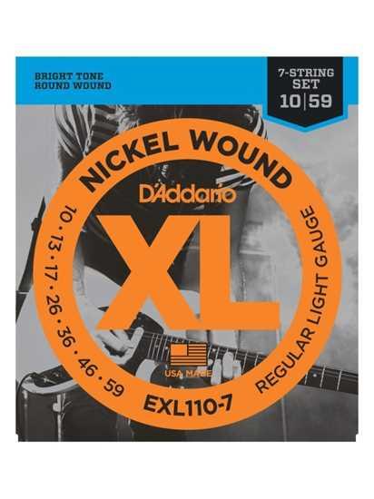 D'Addario EXL110-7 Regular Light