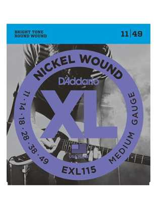 D'Addario EXL115 Medium Blues-Jazz Rock