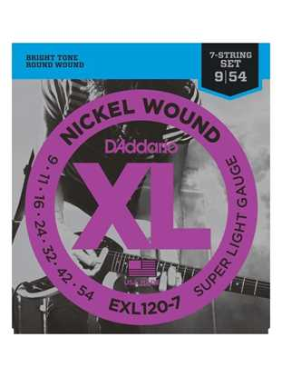 D'Addario EXL120-7 Super Light