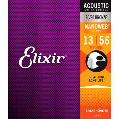 Elixir Nanoweb® Medium 013-056