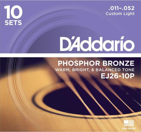 Bild på D'Addario EJ26-10P