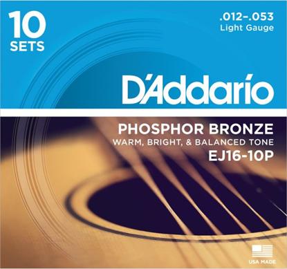 Bild på D'Addario EJ16-10P