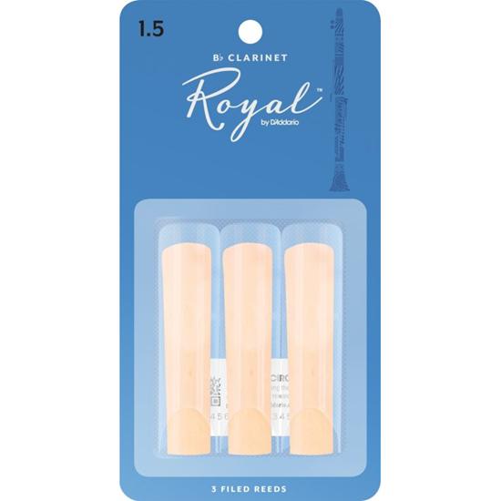 Bild på Rico Royal Bb-klarinett 3-pack  1.5