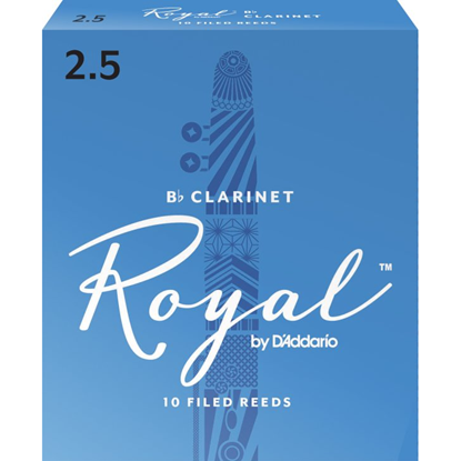 Bild på Rico Royal Bb-klarinett 10-pack  2.5