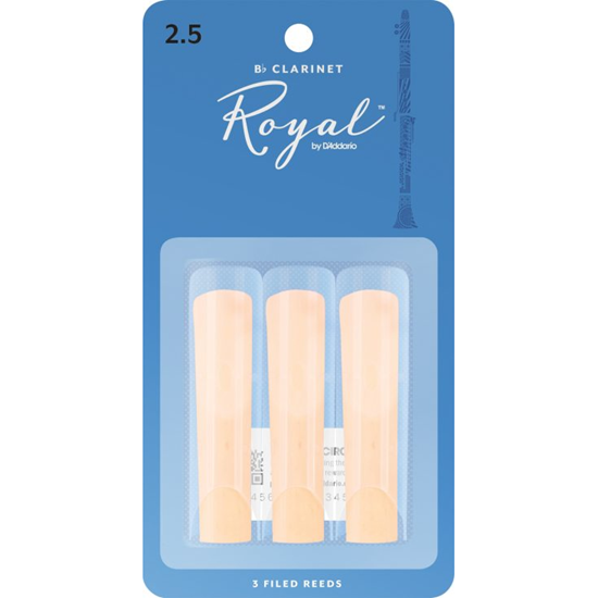 Bild på Rico Royal Bb-klarinett 3-pack  2.5
