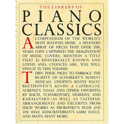 Bild på Library of Piano Classics 1