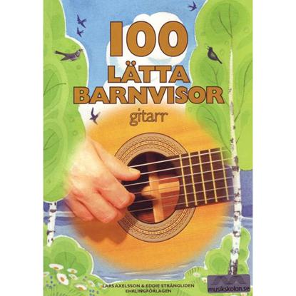 Bild på 100 Lätta Barnvisor Gitarr