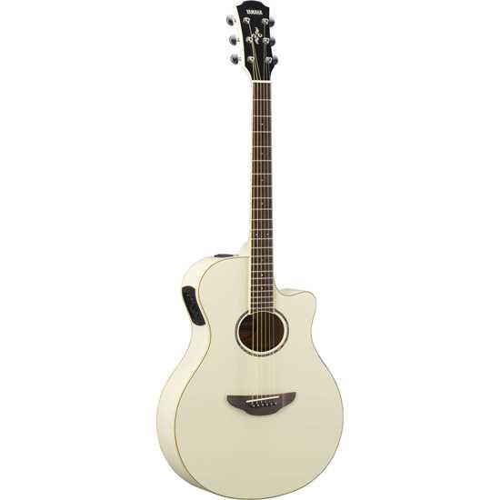 Bild på Yamaha APX600 Old Vintage White