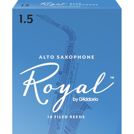Bild på Rico Royal Altsaxofon 10-pack 1.5