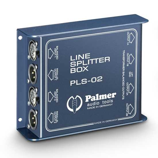 Bild på Palmer PLS02 Dual Channel Line Splitter