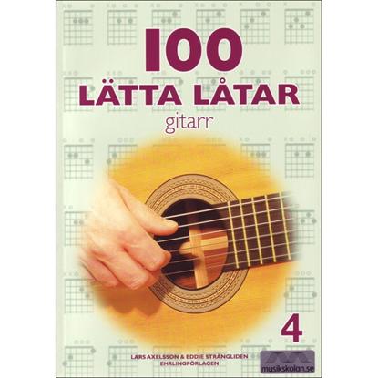 Bild på 100 lätta låtar 4 Gitarr