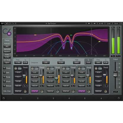 Bild på Waves C6 Multiband Compressor