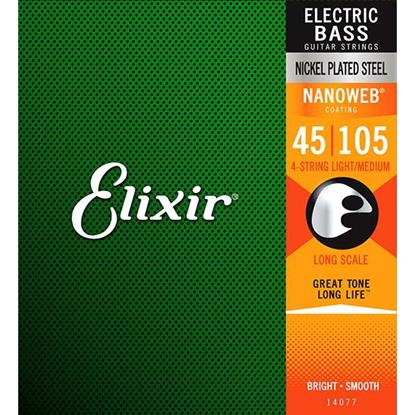 Bild på Elixir Nanoweb® Light-Medium 045-105