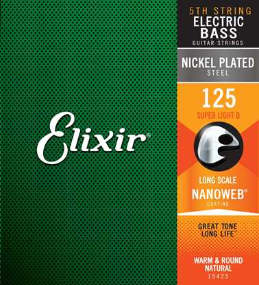 Bild på Elixir Nanoweb® Super-Light 125 B-5th
