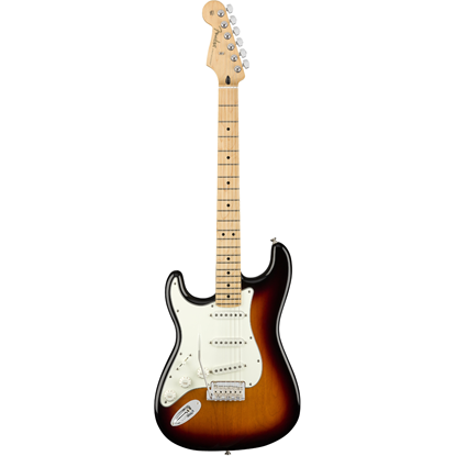 Bild på Fender Player Stratocaster® Left-Hand Maple Fingerboard 3-Color Sunburst
