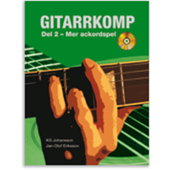 Bild på Gitarrkomp 2 - Mer ackordspel inkl CD