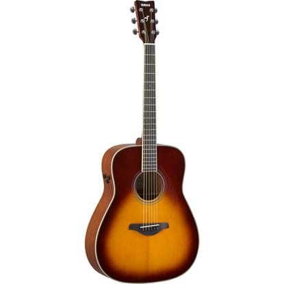 Bild på Yamaha FG-TA Brown Sunburst
