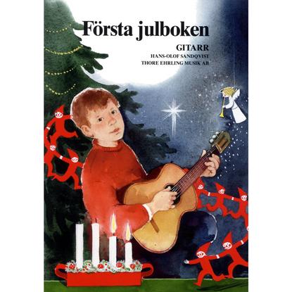Bild på Första julboken - gitarr