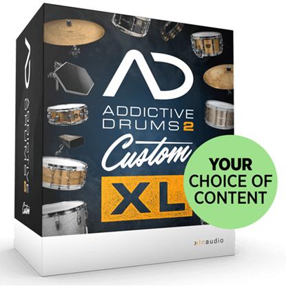 Bild på XLN Audio Addictive Drums 2 Custom XL Bundle