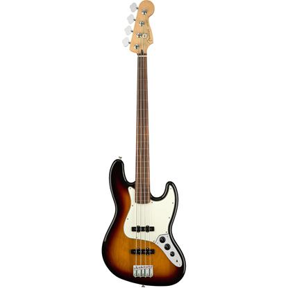 Fender Player Jazz Bass® Fretless Pau Ferro Fingerboard 3-Color Sunburst