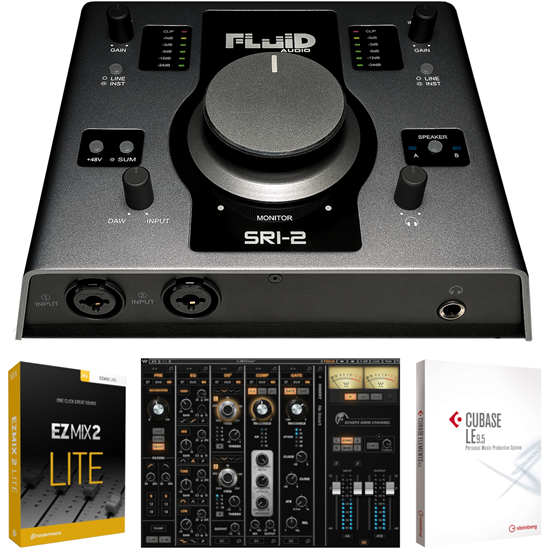 Bild på Fluid Audio SRI2 Omni Channel Bundle