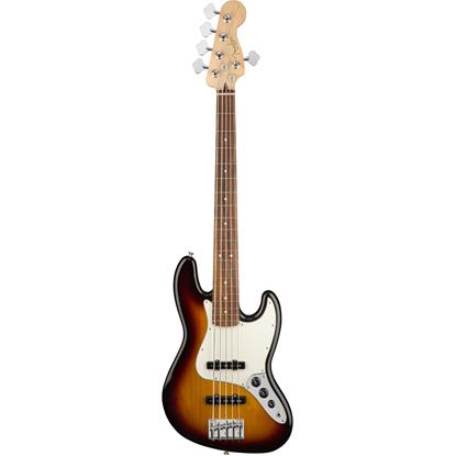 Fender Player Jazz Bass® V Pau Ferro Fingerboard 3-Color Sunburst