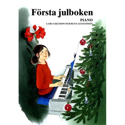 Bild på Första julboken - piano