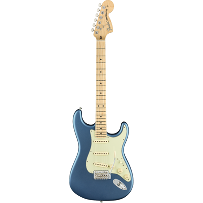 Fender American Performer Stratocaster® Maple Fingerboard Satin Lake Placid Blue