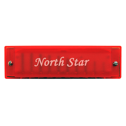 Bild på North Star Color Blues Röd C-dur