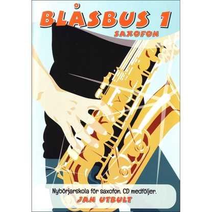 Blåsbus 1 Altsaxofon reviderad upplaga
