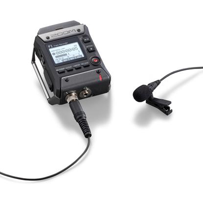 Zoom F1 Field Recorder + Lavalier Mic F1-LP