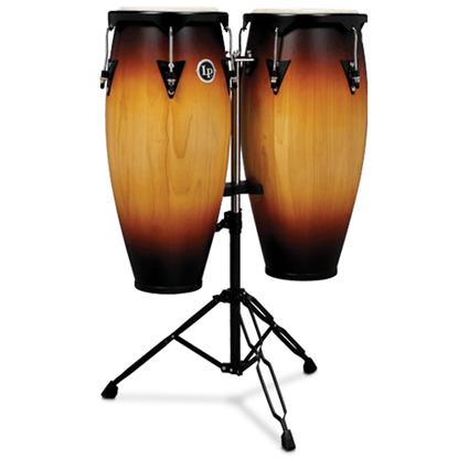 """Bild på Latin Percussion LP646NY-VSB  Conga Set 10"""" &  11"""" Vintage Sunburst"""