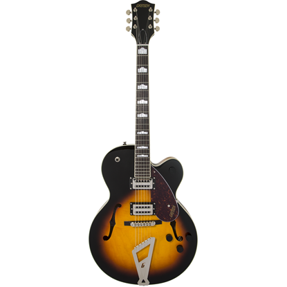 Bild på Gretsch G2420 Streamliner™ Hollow Body  Chromaitc II Aged Brooklyn Burst