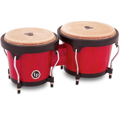 Bild på Latin Percussion LPA601-RW  Bongo Red Wood Finish