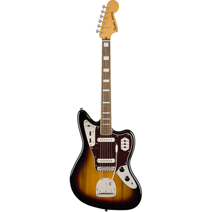 Squier Classic Vibe '70s Jaguar® Laurel Fingerboard 3-Color Sunburst