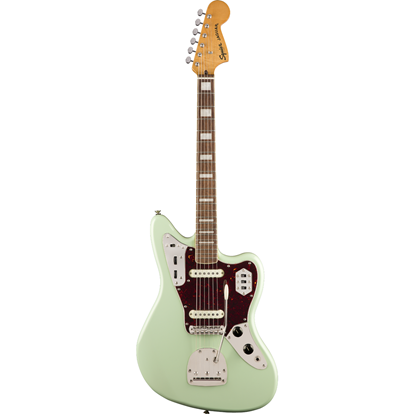 Squier Classic Vibe '70s Jaguar® Laurel Fingerboard Surf Green