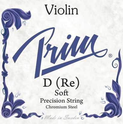 Bild på Prim Violinsträng D soft