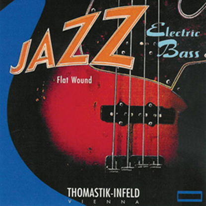 Bild på Thomastik Jazz Bass Flat Wound Short Scale