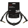 Fender Deluxe Series Instrument Cable 3' Black Tweed