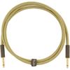 Fender Deluxe Series Instrument Cable 5' Tweed