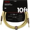 Fender Deluxe Series Instrument Cable 10' Tweed