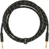 Fender Deluxe Series Instrument Cable 10' Black Tweed