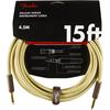 Fender Deluxe Series Instrument Cable 15' Twee