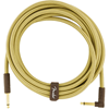 Fender Deluxe Series Instrument Cable 15' Angled Tweed