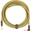 Fender Deluxe Series Instrument Cable 18,6' Angled Tweed