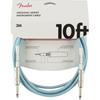 Fender Original Series Instrument Cable 10' Daphne Blue