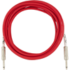 Fender Original Series Instrument Cable 15' Fiesta Red