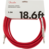 Fender Original Series Instrument Cable 18,6' Fiesta Red
